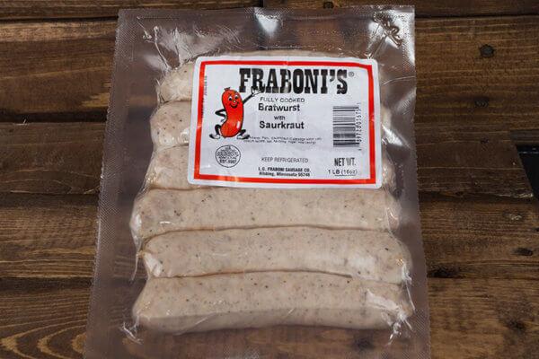 Sauerkraut Bratwurst